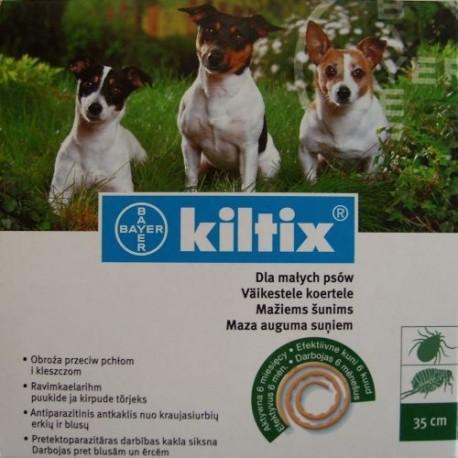 Kiltix obroża 35cm - dla małych psów