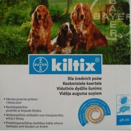 Kiltix obroża 53cm - dla średnich psów