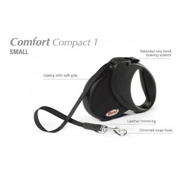 Flexi Comfort Compact 1 - psy do 15kg - Czarna