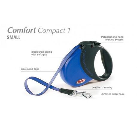 Flexi Comfort Compact 1 - psy do 15kg - Niebieska