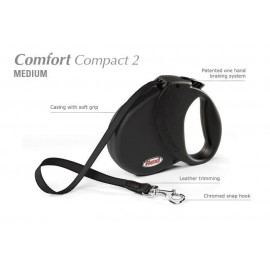 Flexi Comfort Compact 2 - psy do 25kg - Czarna