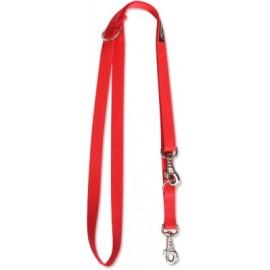 Smycz nylonowa 200cm - Czerwona