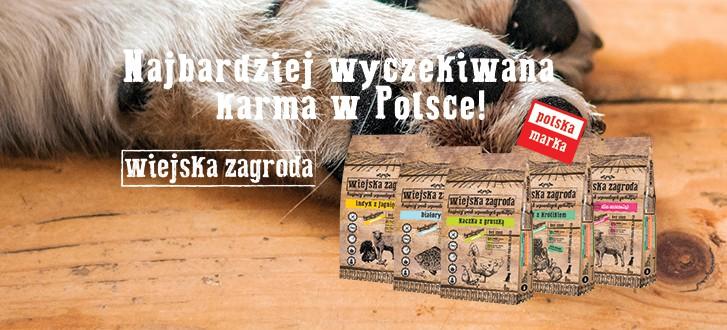 Wiejska zagroda polska karma dla psa